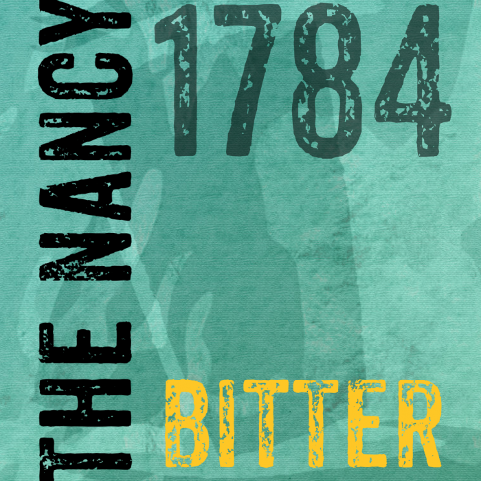 The Nancy bitter 1784 label