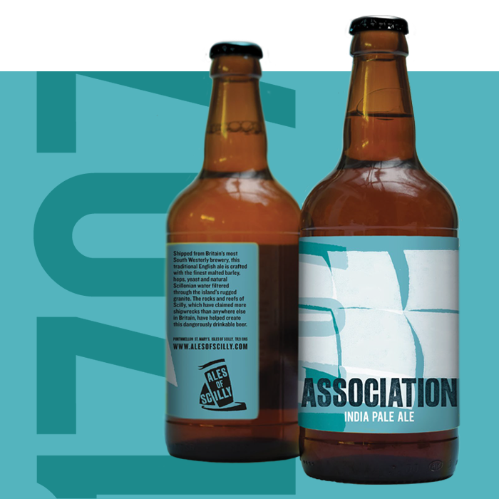 2 bottles of Association IPA
