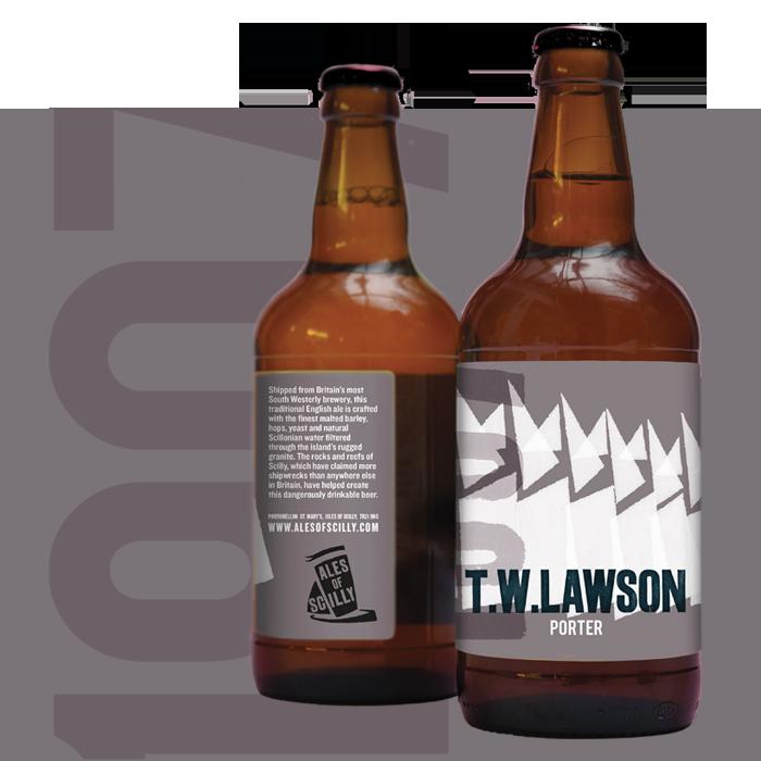 T W Lawson - porter style ale